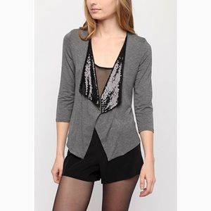 Silence & Noise, UO, Cardigan w/ sequin detail.